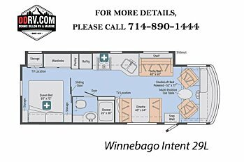 2018 Winnebago Intent for sale 300148159