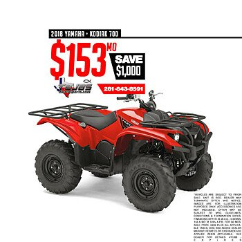 2018 Yamaha Kodiak 700 for sale 200584490