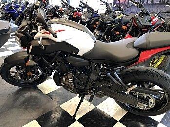 2018 Yamaha MT-07 for sale 200584141