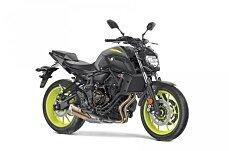 2018 Yamaha MT-07 for sale 200570983