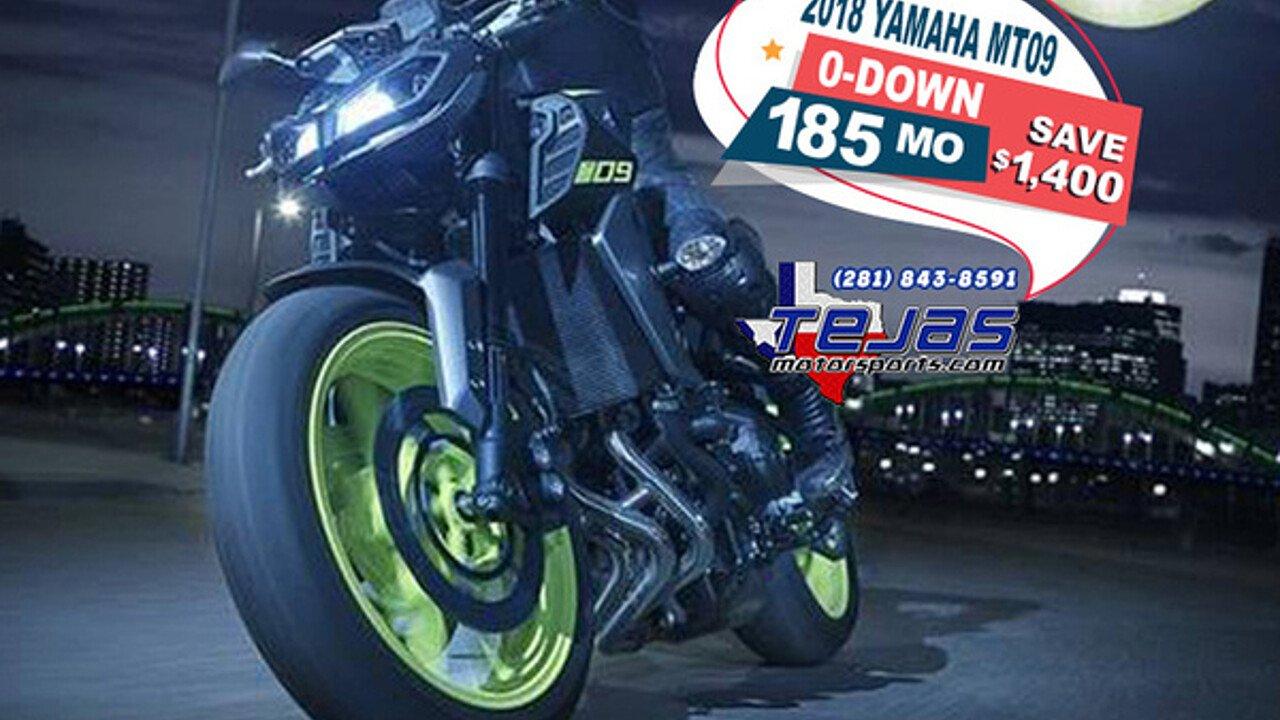 2018 Yamaha MT-09 for sale 200584521
