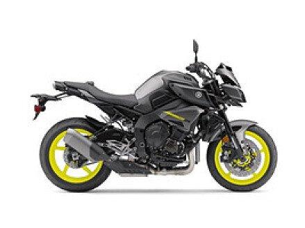 2018 Yamaha MT-10 for sale 200526095