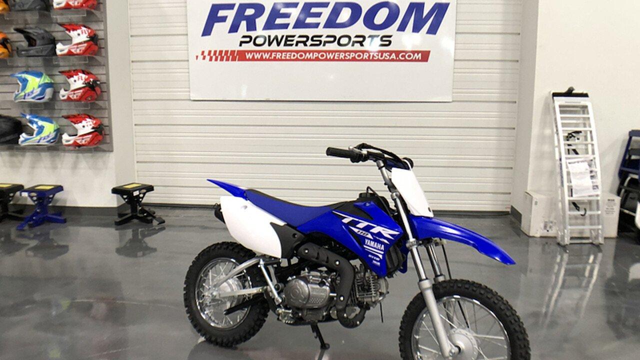 2018 Yamaha TT-R110E for sale 200593097