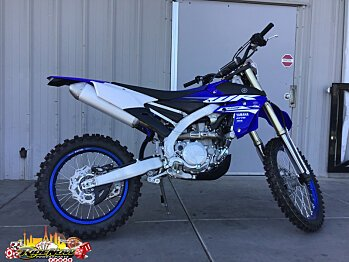 2018 Yamaha WR450F for sale 200524989