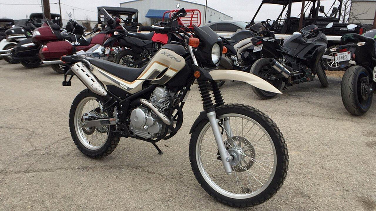 2018 Yamaha XT250 for sale 200502391