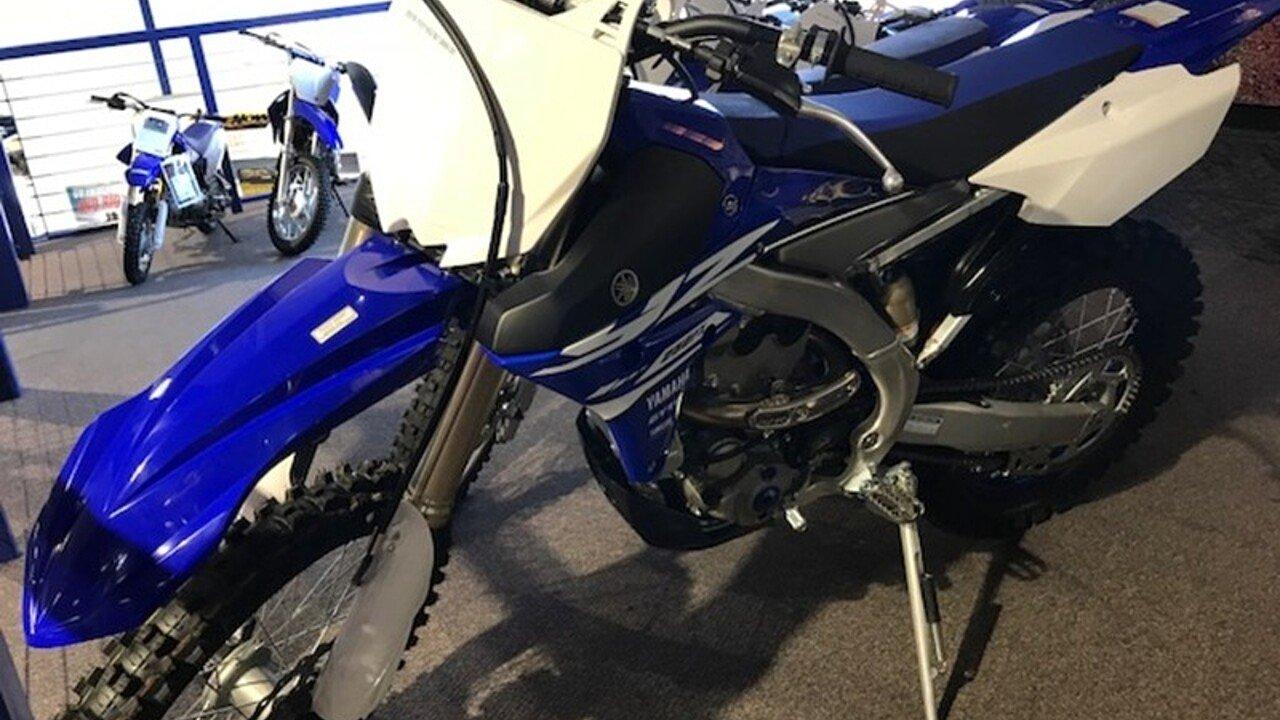2018 Yamaha YZ250F for sale 200549114
