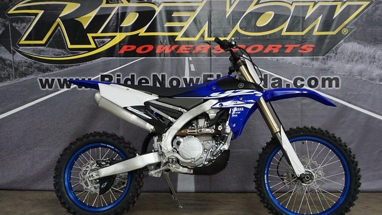 2018 Yamaha YZ450F for sale 200570127