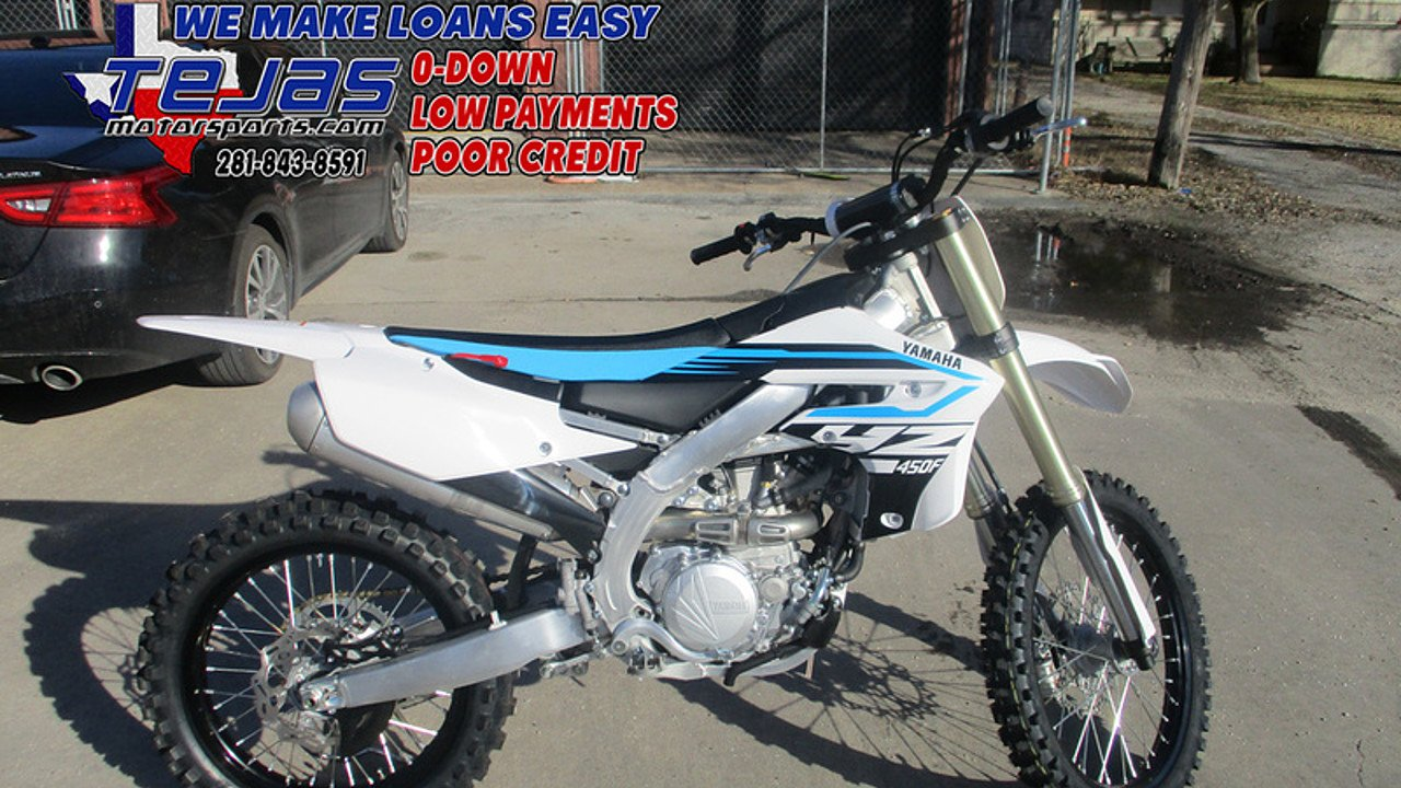 2018 Yamaha YZ450F for sale 200584496