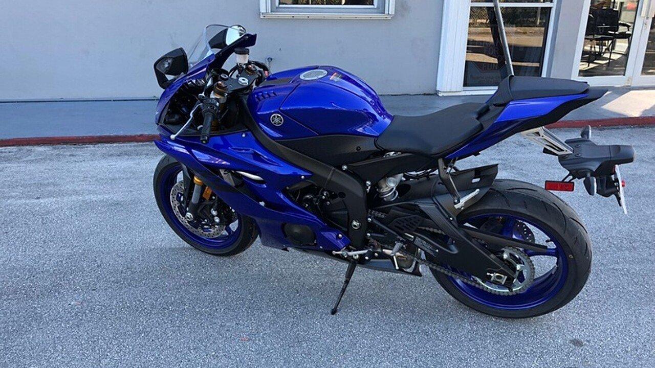 2018 Yamaha YZF-R6 for sale 200523849
