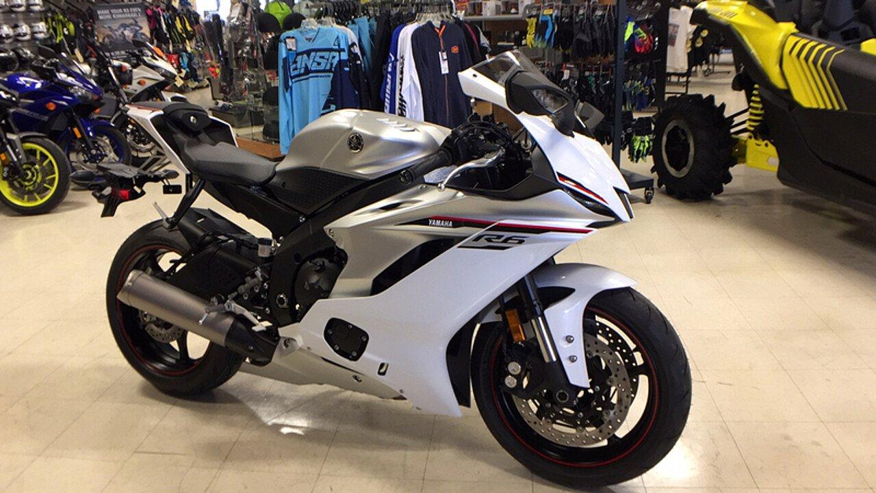 2018 Yamaha YZF-R6 for sale 200546334