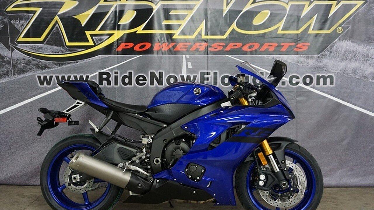 2018 Yamaha YZF-R6 for sale 200570106