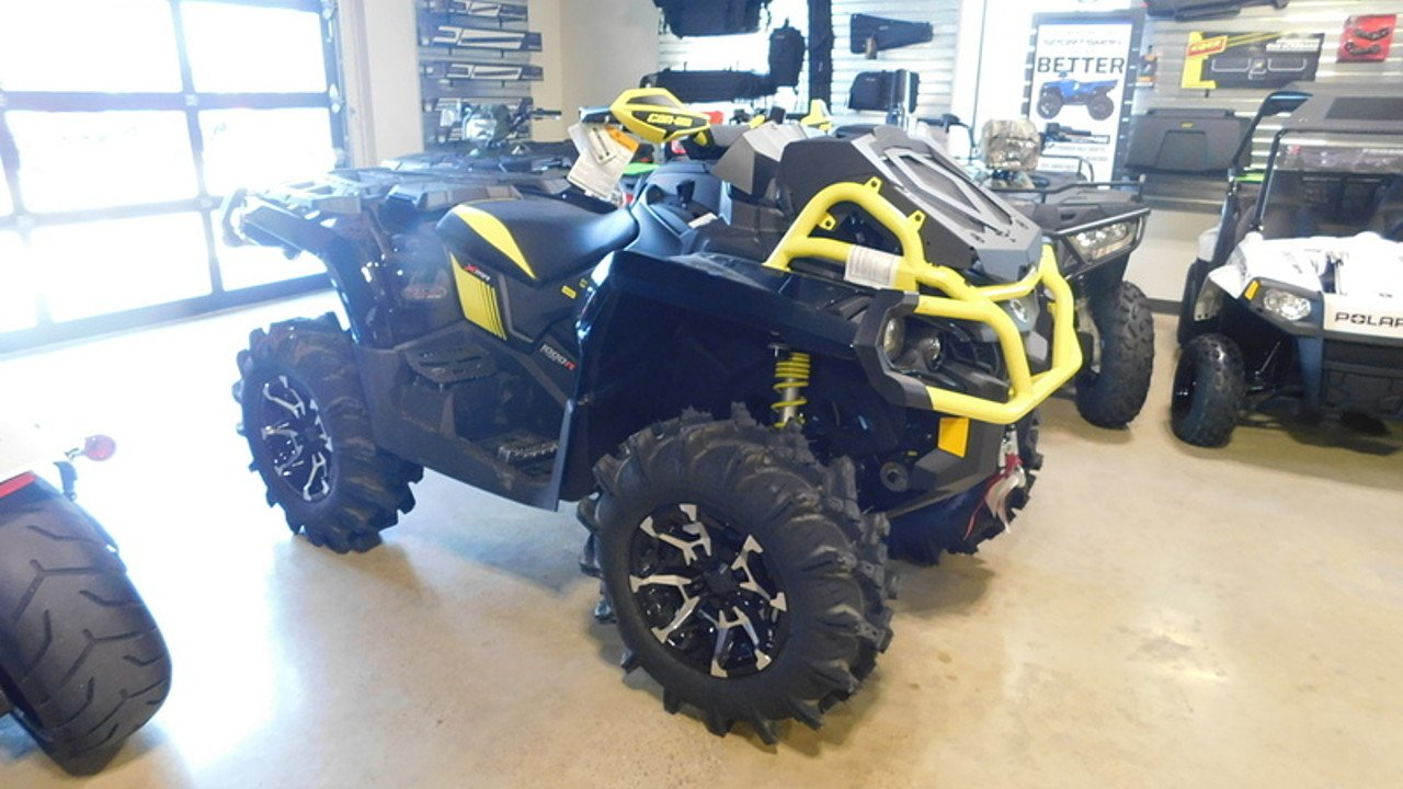 2018 can-am Outlander 1000R XMR for sale 200597470