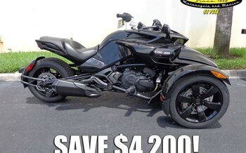 2018 can-am Spyder F3 for sale 200600448