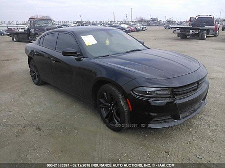 2018 dodge Charger SXT for sale 101015605