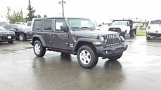 2018 jeep Wrangler 4WD Unlimited Sport for sale 101008904