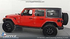 2018 jeep Wrangler 4WD Unlimited Sahara for sale 101009407