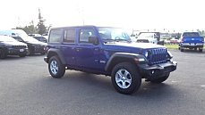 2018 jeep Wrangler 4WD Unlimited Sport for sale 101012670