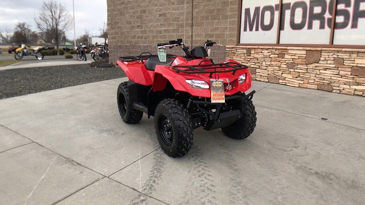 2018 suzuki KingQuad 400 for sale 200503343