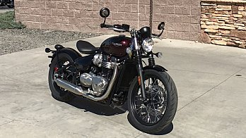 2018 triumph Bonneville 1200 Bobber for sale 200507812