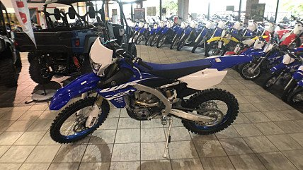 2018 yamaha WR450F for sale 200624642
