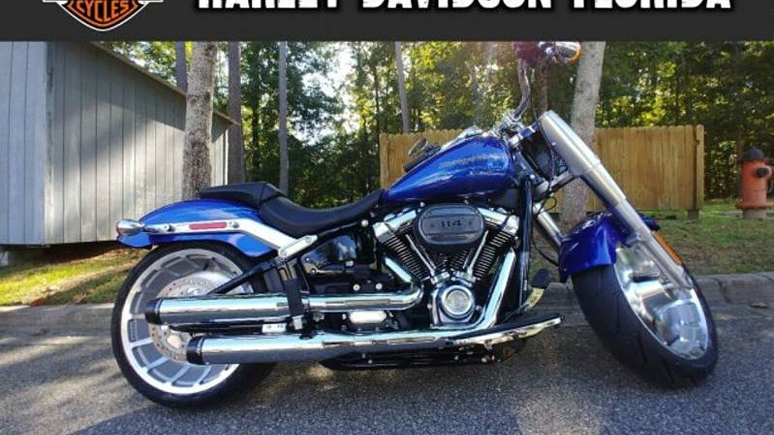 2019 Harley-Davidson Softail Fat Boy 114 for sale 200622056