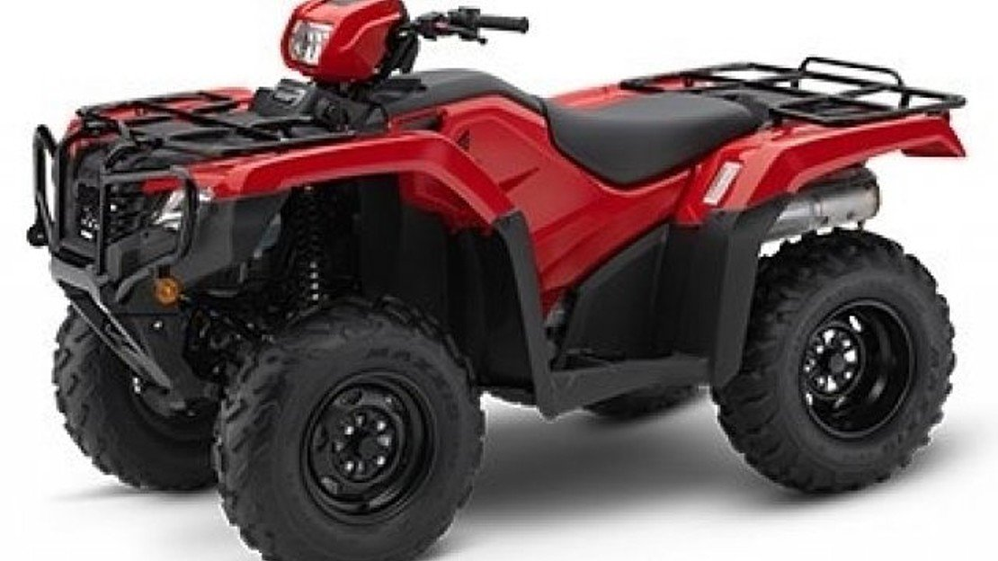 2019 Honda FourTrax Foreman for sale 200621306