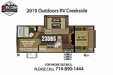 2019 Outdoors RV Creekside for sale 300159184