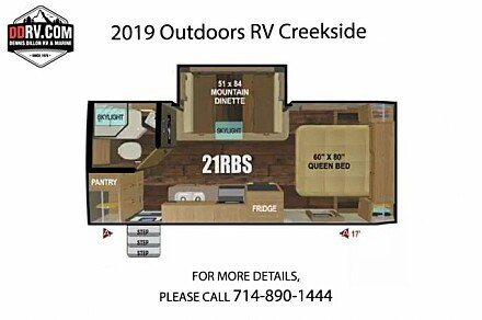 2019 Outdoors RV Creekside for sale 300160370