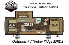 2019 Outdoors RV Timber Ridge for sale 300163491