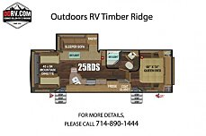 2019 Outdoors RV Timber Ridge for sale 300163566