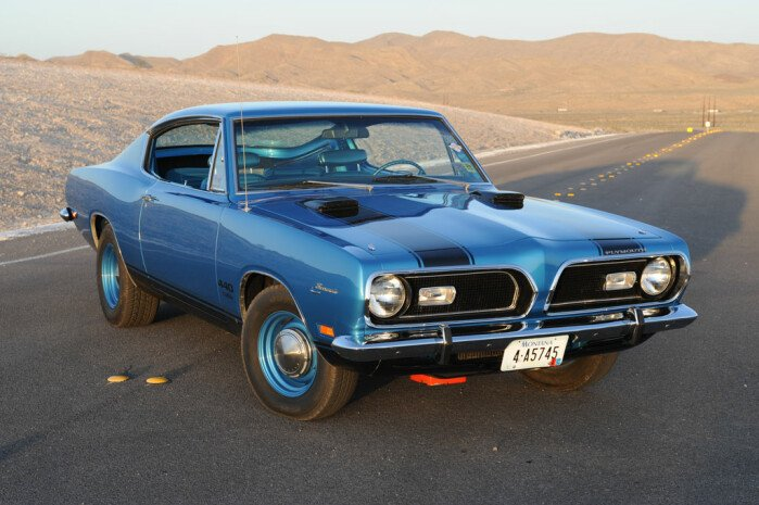 9 Daring Designs - 1969 'Cuda 440