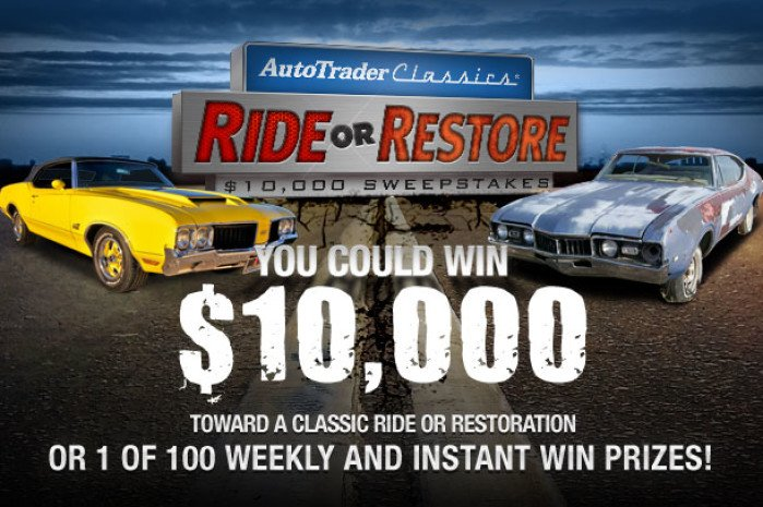 "AutoTraderClassics.com ""Ride or Restore"" Contest Winner Hopes to Recapture First Love"