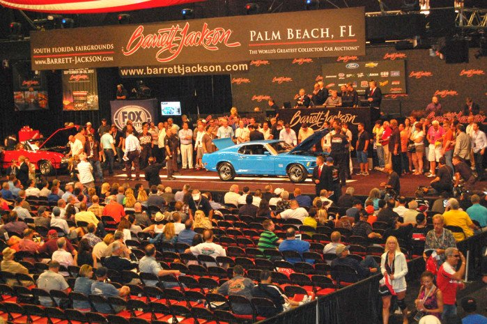 Ford Storms Barrett-Jackson's Palm Beach Auction