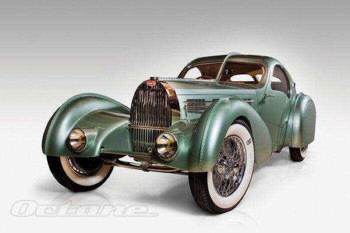 Recreating The 1937 Bugatti Aerolithe
