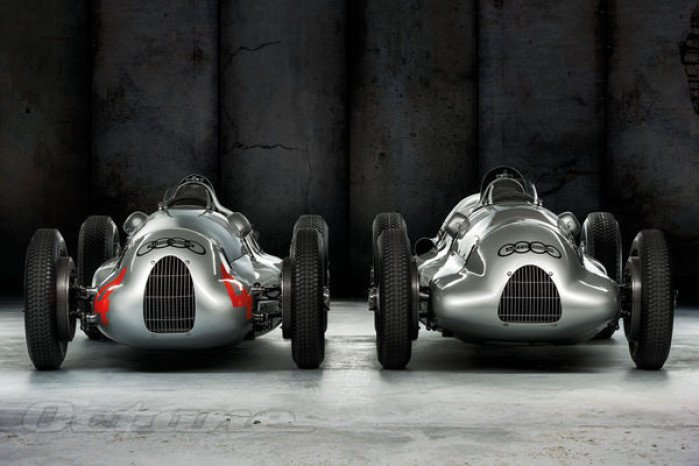 1938-39 Auto Union Type D Race Cars