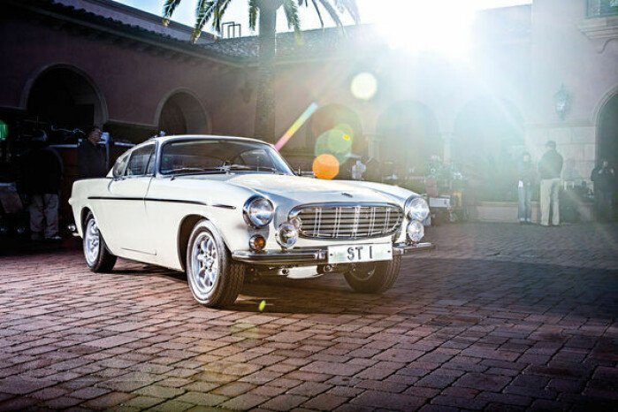 """The Saint"" 1967 Volvo P1800S"