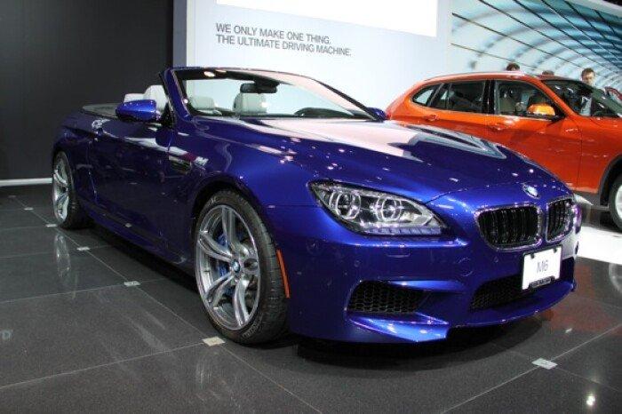 2012 BMW M6 Convertible: New York Auto Show