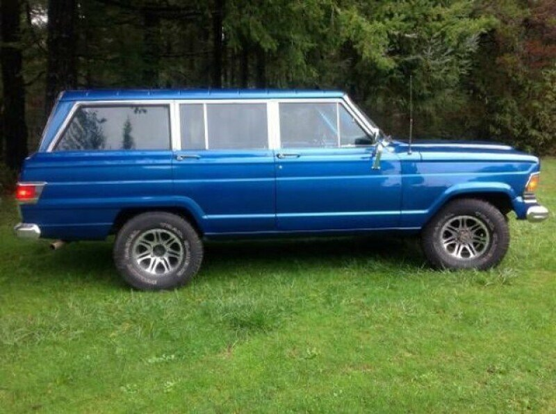 Jeep Wagoneer Clics for Sale - Clics on Autotrader