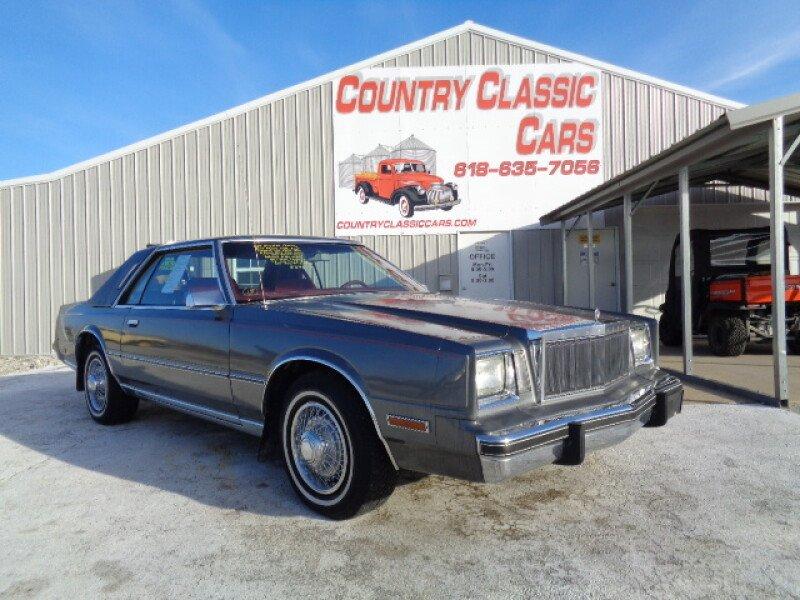 1983 Chrysler Cordoba for sale near Staunton, Illinois 62088 ...